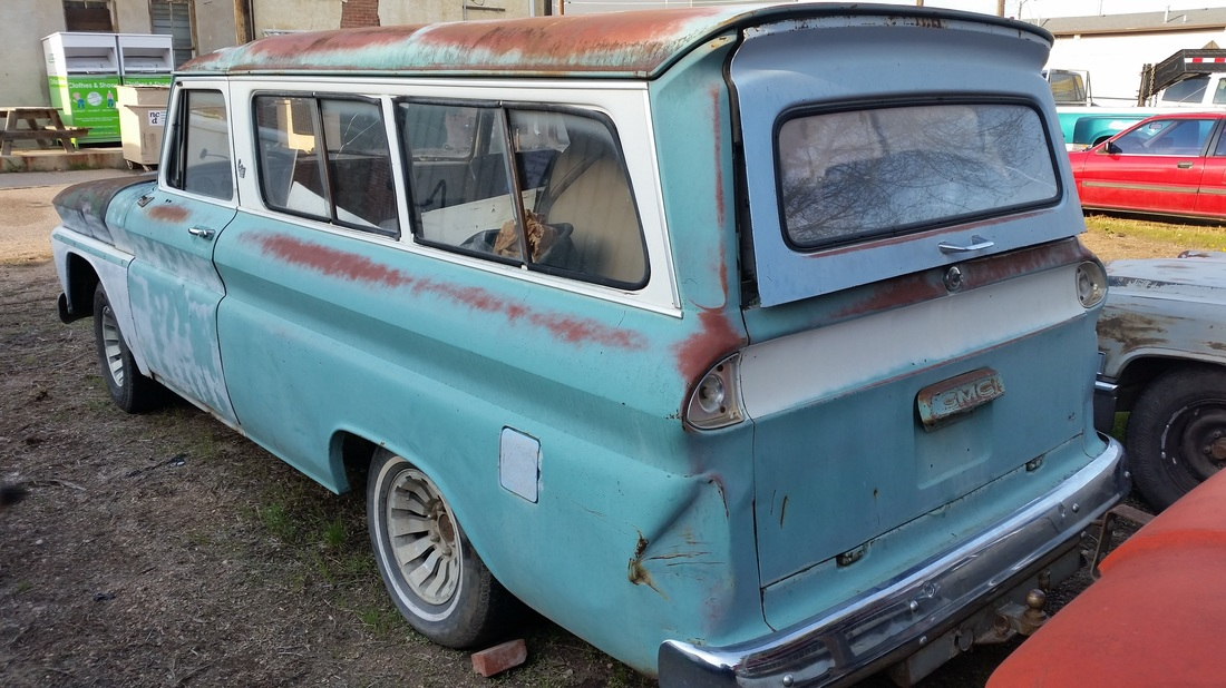 1966 gmc suburban roy 39 s vintage cars for Roy motors used cars